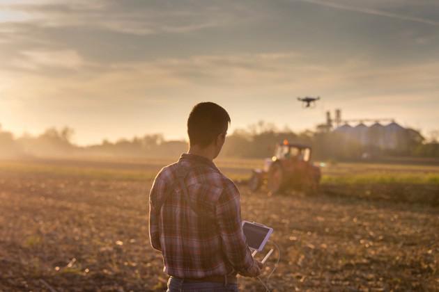 Empresa de topografia com drone
